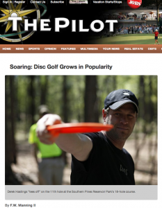 http://www.thepilot.com/news/2012/apr/13/soaring-disc-golf-grows-popularity/