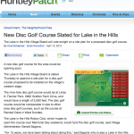 http://huntley.patch.com/articles/new-disc-golf-course-slated-for-lake-in-the-hills