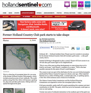 http://www.hollandsentinel.com/feature/x230257512/Former-Holland-Country-Club-park-starts-to-take-shape