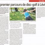 Un premier parcours de disc-golf à Lévis