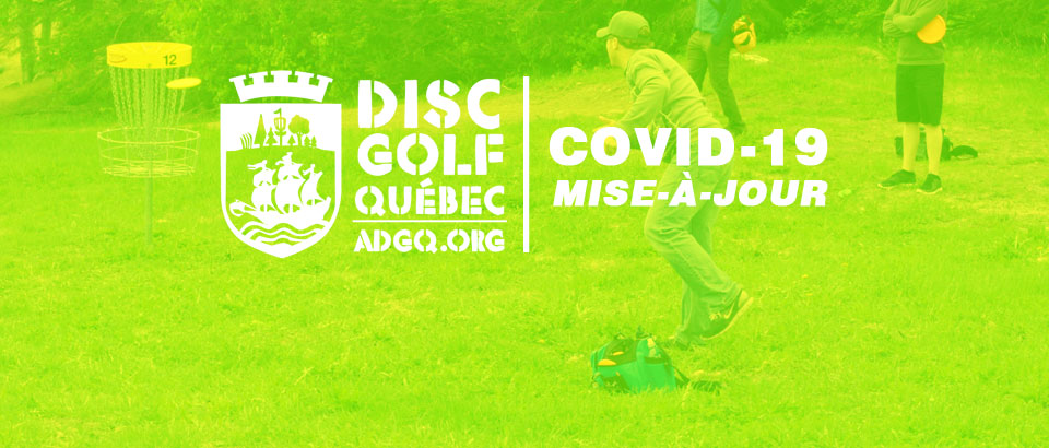 Covid19: Disc Golf dès le 20mai