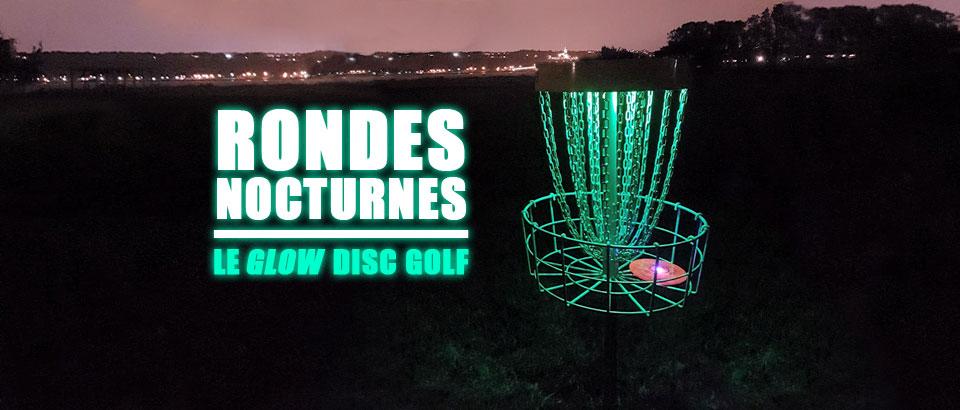 Jouer au Disc Golf à la noirceur?