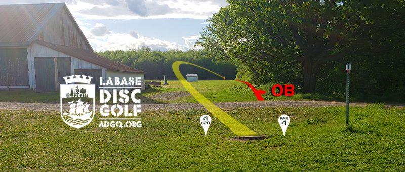 Un parcours (9) de transition sur La Base