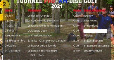 La Tournée Pro-Am DG sort à nouveau son calendrier 2021